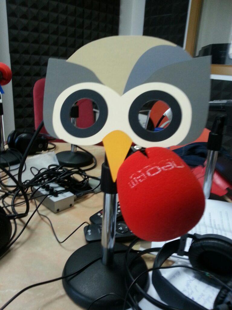 Hootsuite en la radio
