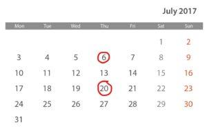 Eventos periódicos con Outlook