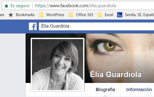 Fanpage de Elia Guardiola