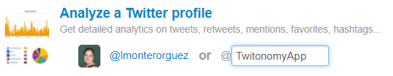 Analiza cualquier cuenta de Twitter con Twitonomy