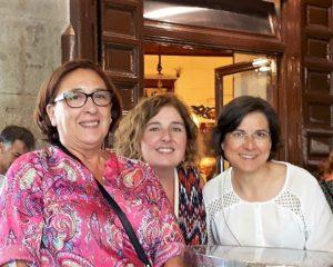 Mar Andreu con Lola Martínez (lolilme) y Lucía Montero