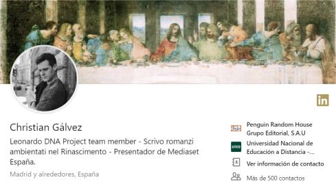 Christian Galvez en LinkedIn